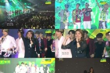 Music Bank In Brazil Special Stages Added To The Heat Of The Crowd