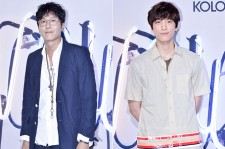 Kim Joo Hyuk and Sung Joon at KOLON SPORT 2014 F/W Fashion Show - Jun 26, 2014 [PHOTOS]