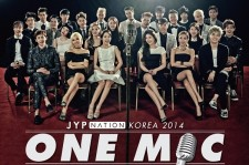 """JYP Reveals Second Poster For Family Concert """"ONE MIC"""""""