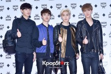 EXO at MCM Flagship Store Opening Event