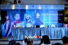 "2NE1 At Open Press Conference In Singapore: ""It's The Music, We Get To Do The Things That We Want To Do.."" [PHOTOS]"