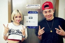 Hyomin and LOCO
