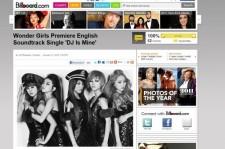 Wonder Girls on Billboard