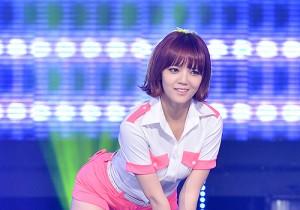 AOA [Short Hair] at MBC Music Show Champion