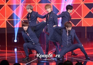 Cross Gene [Amazing Bad Lady] at MBC Music Show Champion