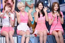 Talk Cut - AOA, Tiny-G, K.will, Jung Joon Young at MBC Music Show Champion