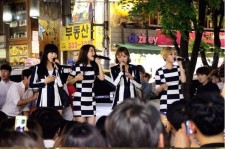 MAMAMOO Holds Surprise Hongdae Guerilla Concert In Success