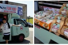 BTOB Yook Sung Jae Thanks His Fans For His First Snack Truck