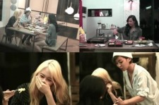Victoria And Luna Enjoys A Meal At Jessica&Krystal