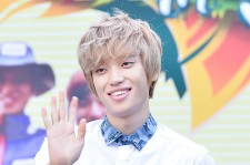 Teen Top's Niel at 'Law of The Jungle' Indian Ocean Event