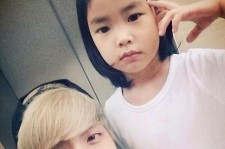 SHINee Jong Hyun Takes Picture With Haru