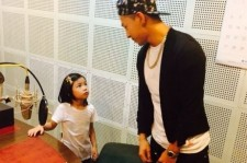 Taeyang Meets Haru And Thanks Her