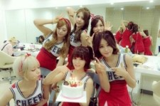 Group AOA Takes A Group Shot To Celebrate 700 Days Since Debut