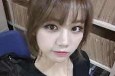 Girl's Day Hyeri Shows A Perfect Angle Selfie