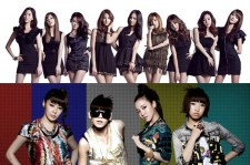 Girls' Generation and 2NE1 Fans Nominated in 'MTV Fan ARMY FTW' at O Music Awards