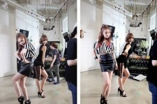 Girl's Day Minah and Hyeri Plays Model On Camera