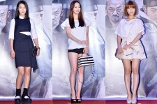 After School's Gahee, SISTAR's Dasom and Tiny G's Dohee Attend a VIP Premiere of Upcoming Film 'KUNDO : Age of the Rampant'