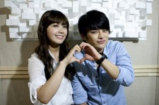 Jung Eun Ji and Seo In Guk