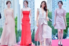 Kim So Eun, Son Se Bin, Son Ye Jin and Shim Eun Kyung at Puchon International Fantastic[PiFan] Film Festival Red Carpet