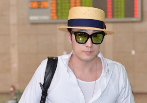 So Ji Sub at Gimpo Airport for Fan Meeting in Japan