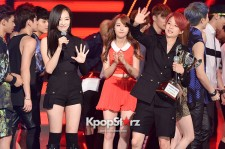 f(x) [Red Light] at MBC Music Show Champion