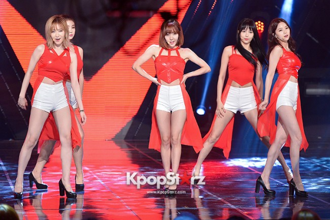 Fiestar [One More] at MBC Music Show Champion key=>3 count18