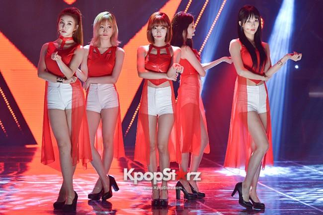 Fiestar [One More] at MBC Music Show Champion key=>6 count18
