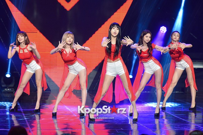 Fiestar [One More] at MBC Music Show Champion key=>9 count18
