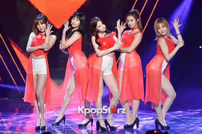 Fiestar [One More] at MBC Music Show Champion key=>12 count18