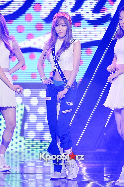 Hyomin [Nice Body] at MBC Music Show Championkey=>2 count22