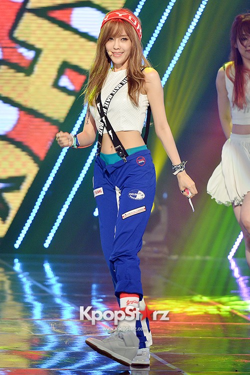 Hyomin [Nice Body] at MBC Music Show Championkey=>13 count22