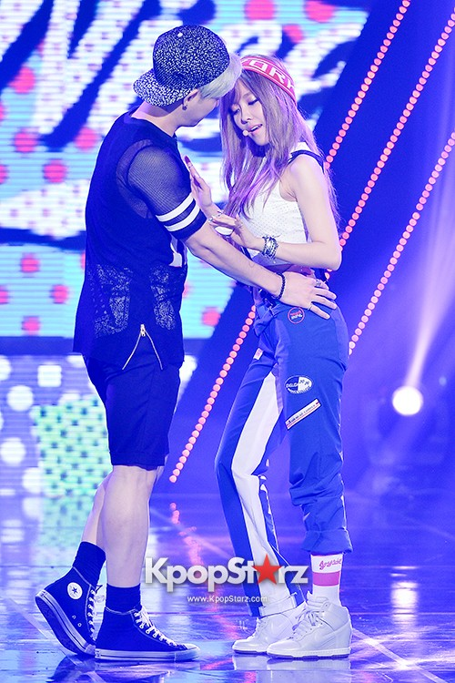 Hyomin [Nice Body] at MBC Music Show Championkey=>17 count22