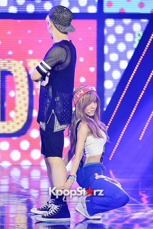Hyomin [Nice Body] at MBC Music Show Championkey=>21 count22
