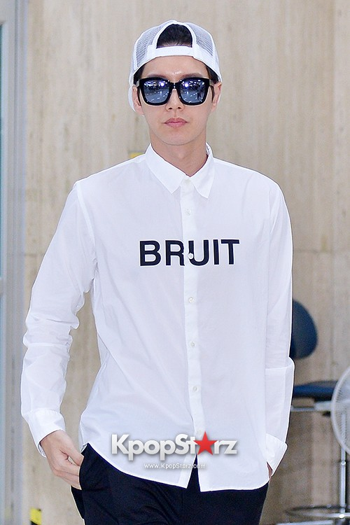 Park Hae Jin Arrived at Incheon International Airport from Shanghai key=>1 count9