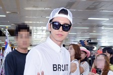 Park Hae Jin Arrived at Incheon International Airport from Shanghai