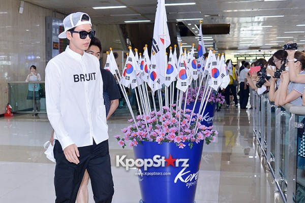 Park Hae Jin Arrived at Incheon International Airport from Shanghai key=>8 count9
