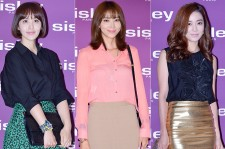 Park Ji Yoon, Oh Yoon Ah and Lee So Yeon at SISLEY Black Rose Precious Face Oil Launching Event