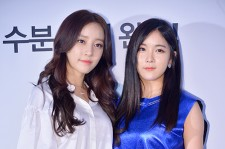 Rianbow's Hyunyoung and Woori at LAB SERIES Male Cosmetic Launching Event at Shinsadong