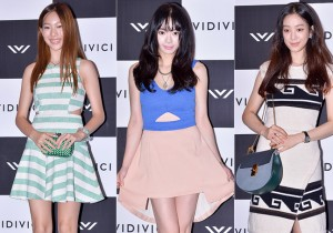 Lee Jin Hee, Seo Woo and Jung Ryeo Won at VIDIVICI Launching Event - Jul 24, 2014 [PHOTOS]