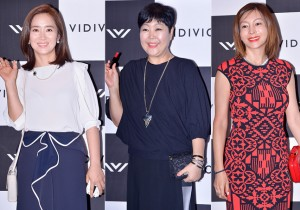 Yoon Yoo Sun, Lee Kyung Min and Hwang Shin Hye at VIDIVICI Launching Event - Jul 24, 2014 [PHOTOS]