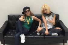 Girls' Generation Hyoyeon and Miss A Min Sport Hip-Hop Style