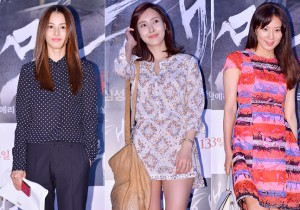 Kang Hye Jung, Kim Yoon Seo and Kim Hee Ae Attend the VIP Premiere of Upcoming Film 'Sea Fog'