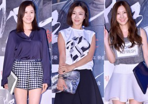 Moon So Ri, Park Hyo Joo and Son Se Bin Attend the VIP Premiere of Upcoming Film 'Sea Fog' - Jul 28, 2014 [PHOTOS]