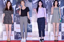 Soy, Lee Da Hee, Lee Yoo Bi and Lee Yoo Young Attend the VIP Premiere of Upcoming Film 'Sea Fog' - Jul 28, 2014 [PHOTOS]