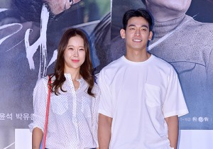 Baek Ji Young and Jung Seok Won Attend the VIP Premiere of Upcoming Film 'Sea Fog'