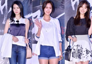 Lim Ji Yeon, Jung Joo Yeon and Han Ji Min Attend the VIP Premiere of Upcoming Film 'Sea Fog' - Jul 28, 2014 [PHOTOS]
