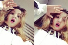 Lee Hi Shares Two Surprised Selfies