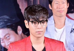 T.O.P Attends a Press Conference of Upcoming Film 'Tazza 2 Hand of God'