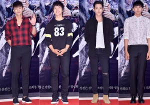 Seo In Guk, Yeo Jin Goo, Lee Soo Hyuk and 2AM's Lim Seulong at a VIP Premiere of Upcoming Film 'The Pirate' - Jul 29, 2014 [PHOTOS]