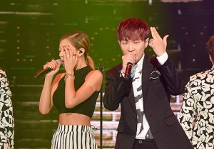 Lucky J [Can you here me] at MBC Musci Show Champion